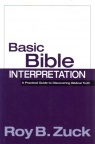 Basic Bible Interpretation  **